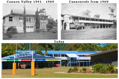 historical images of Cannonvale State School